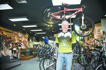<b>Patrick Vala-Haynes shares his thoughts on road cycling in the Yamhill Valley.</b><br/>Marcus Larson / News-Register